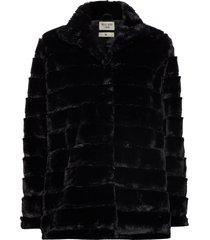 novel outerwear faux fur svart tiger of sweden jeans