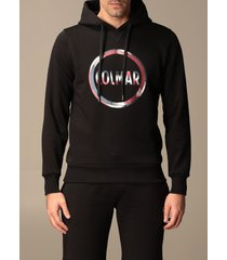 colmar sweatshirt colmar cotton sweatshirt with hood and logo