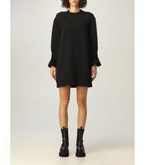 emporio armani dress emporio armani short dress in cotton blend