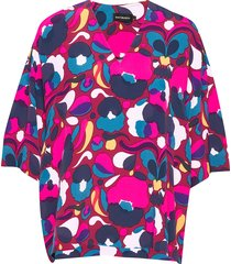 alppi pilvipuutarha shirt blouses short-sleeved multi/mönstrad marimekko