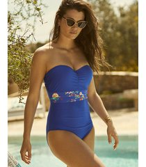 florentine bandeau one-piece swimsuit