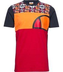 el cirillo tee t-shirts short-sleeved röd ellesse