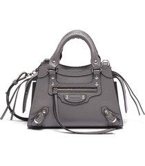 neo classic city mini' grain leather shoulder bag