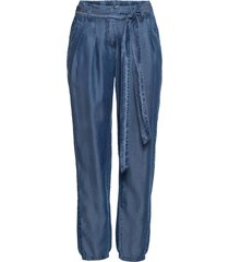 pantalone in tencel senza chiusura (blu) - bodyflirt