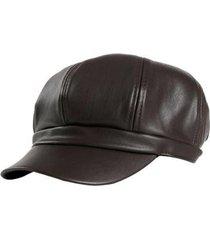 boina, boné, chapéu artestore octogonal estilo britânico masculino - masculino