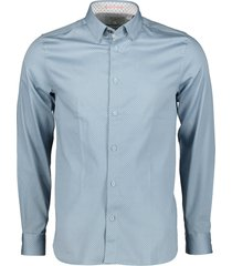 ted baker overhemd - slim fit - blauw