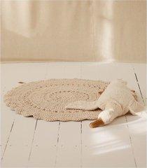 ażurowy dywan bawełniany