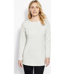 reversible journey tunic sweatshirt