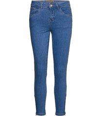 benniecr jeans - shape fit slimmade jeans blå cream