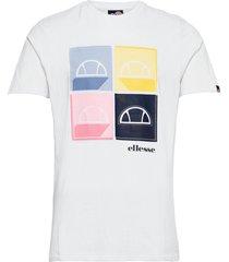 el dice tee t-shirts short-sleeved vit ellesse