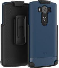 lg v10 belt case, encased ultra thin (2016 slimshield edition) secure-fit holste