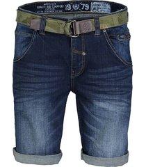 kort spijkerbroek blauw