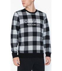 calvin klein underwear l/s sweatshirt sovplagg grey