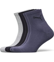 puma short crew 6p unisex ecom underwear socks regular socks blå puma