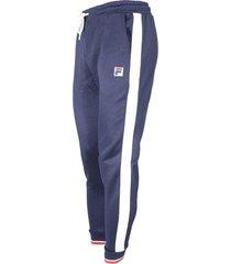 pantalón azul moda fila carter hombre l 20321