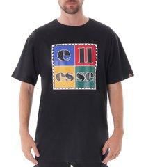 ellesse campania t-shirt - black  shc07264-blk