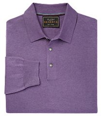 reserve collection traditional fit men's polo sweater clearance