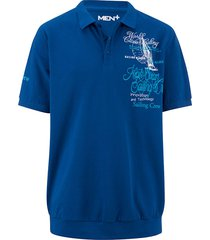 poloshirt men plus royal blue