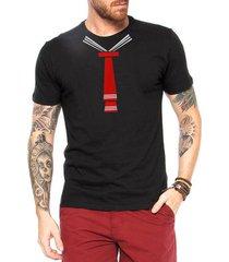 camiseta criativa urbana gravata meu tesouro engraçadas - masculino