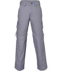 pantalon canvas mix-2 gris oscuro lippi
