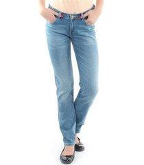 skinny jeans lee marion straight blue l301pcki