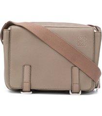 loewe xs military messenger bag - grey