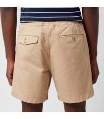 polo ralph lauren men's cotton prepster shorts - vintage khaki - xl