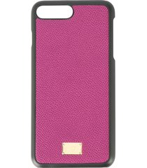 dolce & gabbana iphone 8 plus case - purple