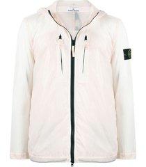 stone island skin touch lightweight jacket - pink