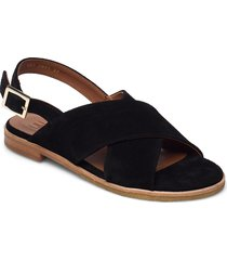 sandals 2841 shoes summer shoes flat sandals svart billi bi