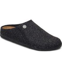 zermatt soft footbed slippers tofflor grå birkenstock