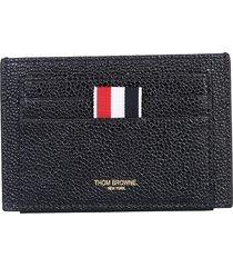 thom browne designer men's bags, card holder with logo