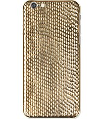 cobra 18k yellow gold plated iphone 6/6s case