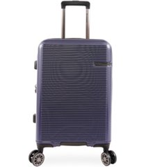 "brookstone nelson 21"" hardside carry-on luggage with charging port"