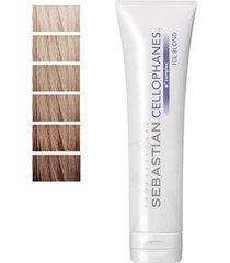tratamento para cabelos cellophanes sebastian 300ml - coloridos ice blond