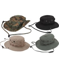black green tan jungle hunting fishing outdoor military camo tactical boonie hat