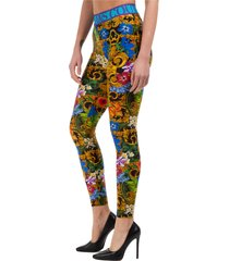 leggings donna tropical baroque