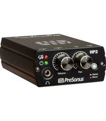 amplificador audifonos personal hp2 presonus hp2