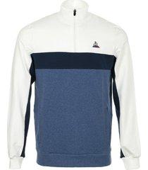sweater le coq sportif tri saison sweat 1/2 zip n°1