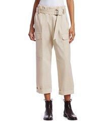 belted cargo monili pants
