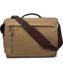 borsa a tracolla per borsa a tracolla borsa da viaggio per computer portatile di grande capacità per uomo donna