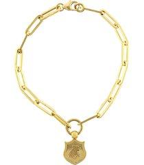 audemus crest fob clip bracelet