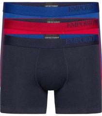 men's knit 3-pack boxershorts boxerkalsonger multi/mönstrad emporio armani