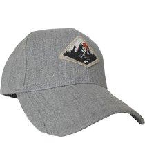gorra gris buxter cap blezer