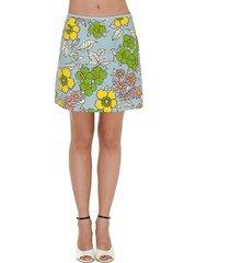 tory burch wallpaper floral skirt