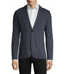 agaltu marled blazer jacket