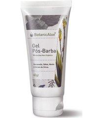 gel pós barba orgânico de aloe vera botanicaloe 60g