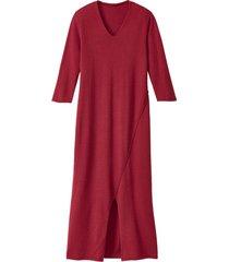 gebreide jurk, framboos 36