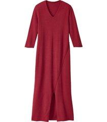 gebreide jurk, framboos 42