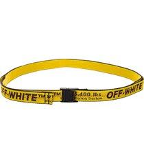 off white mini industrial belt
